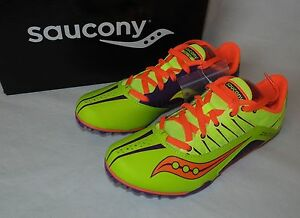 Saucony Womens Size 8.5M (Runs Small!) Spitfire Spike Track Shoes Running