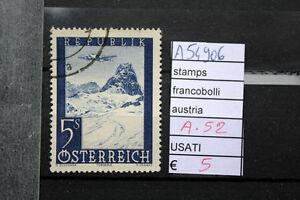 FRANCOBOLLI-AUSTRIA-USATI-N-A52-A54906