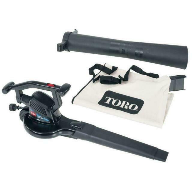 Toro Super Blower Vac 3-In-1 Electric Blower Vacuum & Leaf Shredder -51618