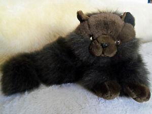 Plush-stuffed-chocolate-brown-Persian-long-hair-cat-14-034