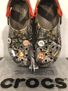 New Luke Combs X Crocs Real Tree Clog Camo Men S Size 12 Rare Ebay