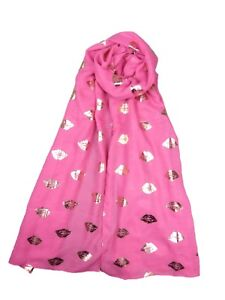 Sparkle-Shimmer-Kiss-Lips-Pashmina-Shawl-Glitter-Kiss-Scarf-Stole-Wrap-6-Colors