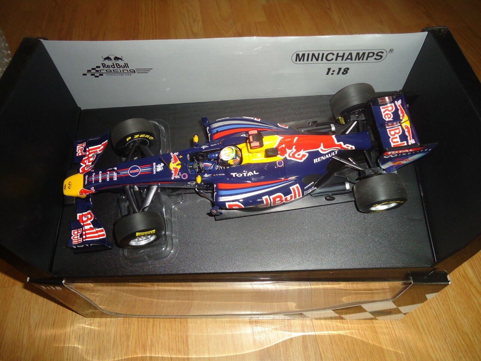 rouge Bull Racing Renault RB7 - S. Vettel 2011 - Minichamps 1 18°