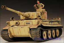 Award Winner Built Tamiya 1/35 DAK Tiger Tank SS 501th +Figure +PE