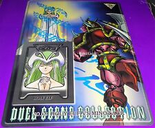1999 Yu Gi Oh Bandai Holy Elf vs Minotaur Duel Scene Coll. # 3
