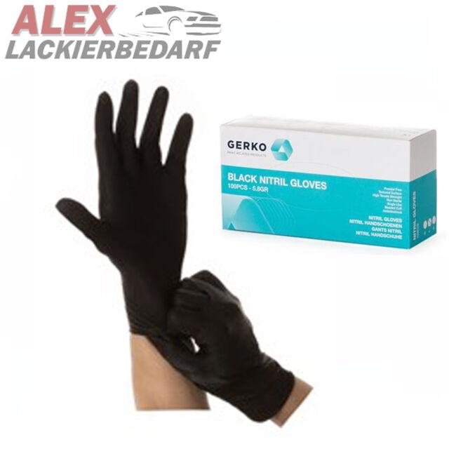 2x GRIPPAZ Schutzhandschuhe NITRIL Einweghandschuhe Handschuhe reißfest L XL