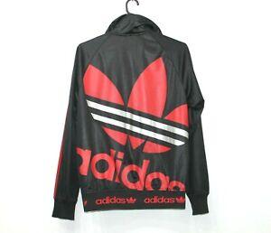 detrás Venta ambulante raspador  Poco común Chaqueta De Chándal Adidas Chile 62 Negro Rojo con logotipo de  Vintage Originals Talla Xs | eBay
