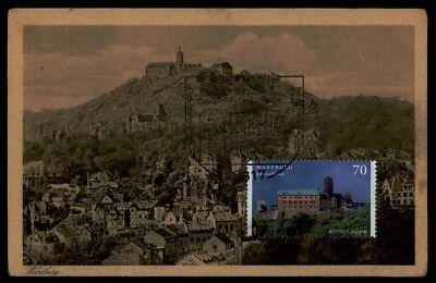 Diverse Philatelie Briefmarken Brd Mk 2017 Eisenach Wartburg Europa Cept Martin Luther Maximumkarte Mc Cm Dp05 Die Neueste Mode