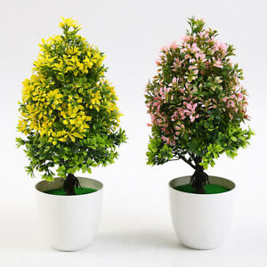 Am-BL-1Pc-Potted-Artificial-Tree-Plant-Bonsai-Stage-Garden-Wedding-Home-Decor