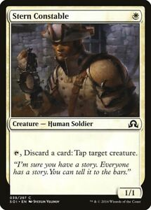 * Foil * Mtg Stern Constable Nm - Shadows Over Innistrad Z6ydkfxy-07215140-809992920