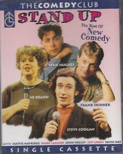Stand-Up-Best-of-New-Comedy-Cassette-Audio-Jo-Brand-Frank-Skinner-Steve-Coogan