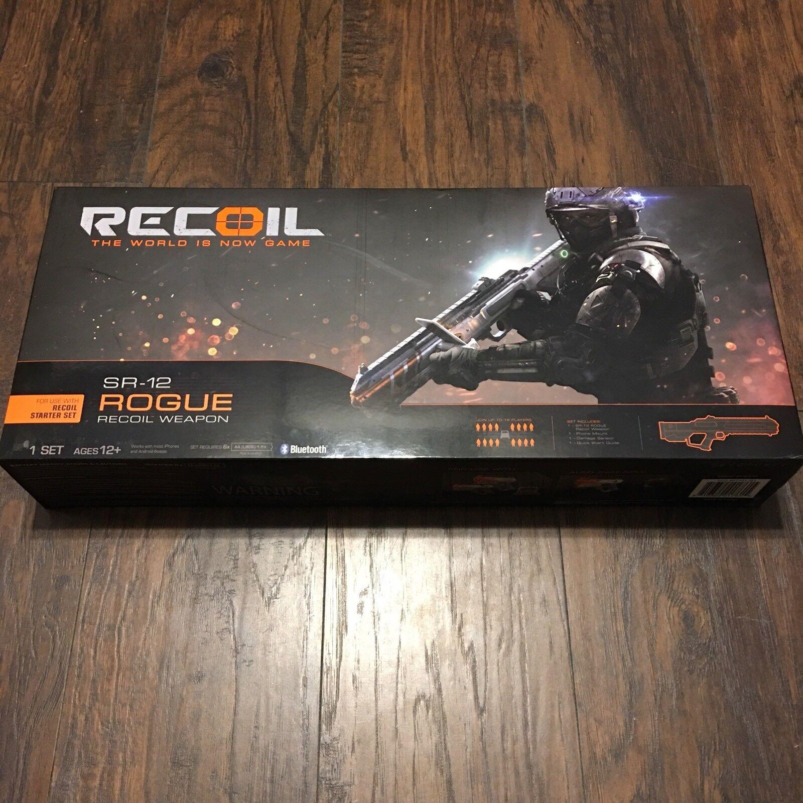 Etiqueta de retroceso láser SR-12 Rogue Blaster Nuevo En Caja