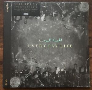 Coldplay-Everyday-Life-LP-Vinyl-New-180gm-2LP-Download-Third-Man-2019