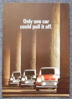 ROVER MINI COOPER Car Sales Brochure 1990 #4198