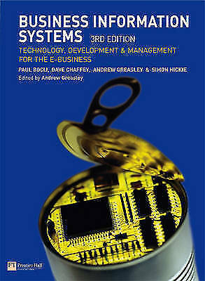 1 of 1 - Business Information Systems: Technology, Development and Management for the...
