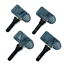 x4 ITM TPMS Tire Pressure Sensor 433MHz Rubber for 2008-2014 Ferrari California
