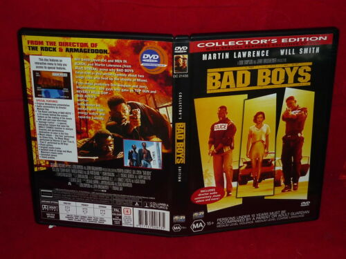 1 of 1 - BAD BOYS COLLECTOR'S EDITION (DVD,  MA 15+)