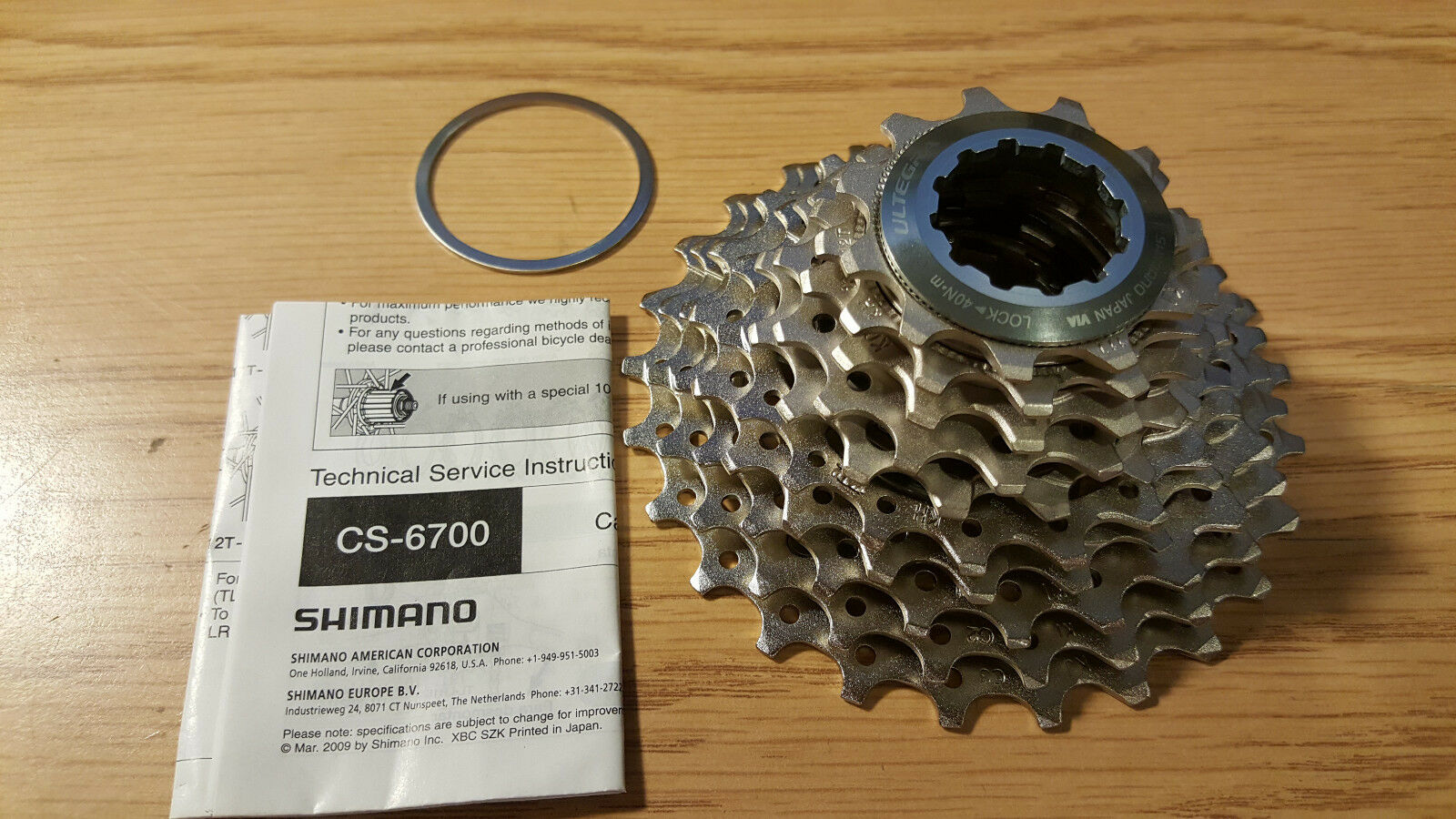 Shimano Ultegra CS-6700 10-Speed Bicycle Road Bike Cassette gravel cross 11-25T