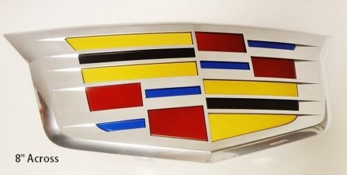 Cadillac ATS LATE 2015 /& 2016 GRILLE CREST OEM FACTORY GM NEW STYLE CHROME