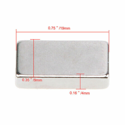 N50 Poweful  Block Magnet Rare Earth Rectangle Durable Magnet-afad822