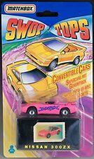 Matchbox Swop Tops Nissan 300ZX New 1992 VHTF Convertible w/Secret Trick Europe