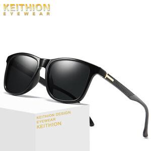 Keithion-Classique-Hommes-Lunettes-de-soleil-polarisees-Square-conduite-exterieure-Eyewear-UV400