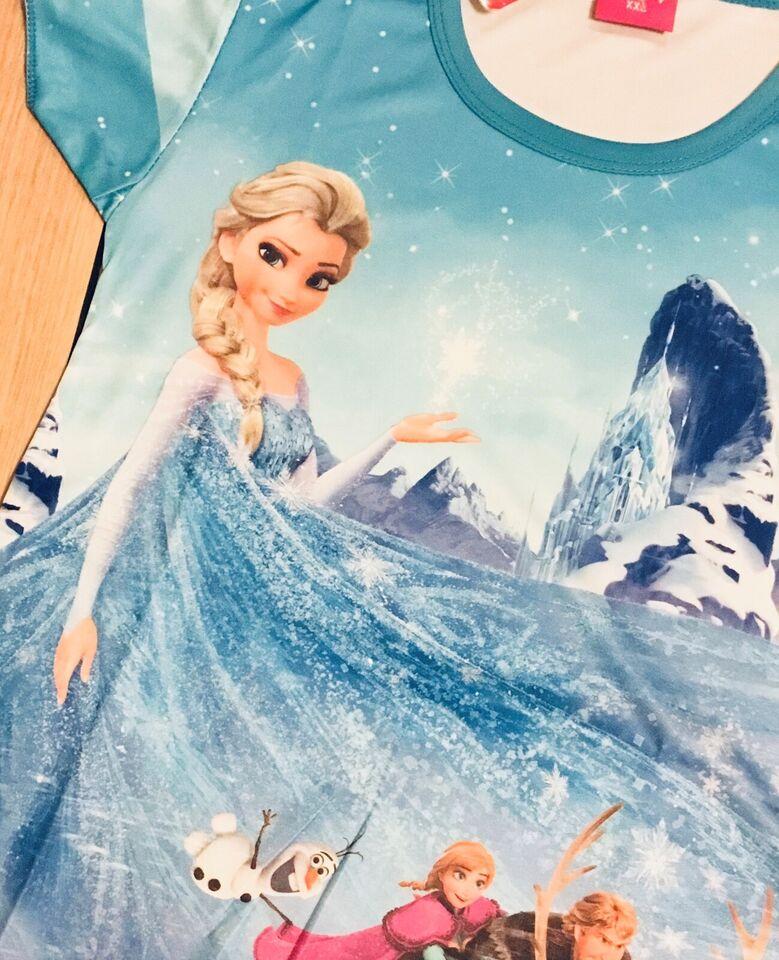 Kjole, Frost kjole str. 110 / 4-5 år, Frost kjole med Elsa og