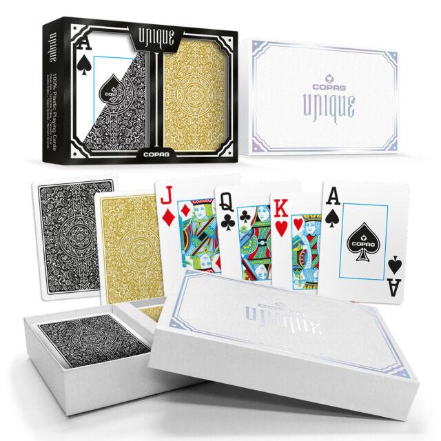Copag Ept Carta de Juego Europeo Póker Tour Jumbo Índice 100/% Plástico 1 Mazo De