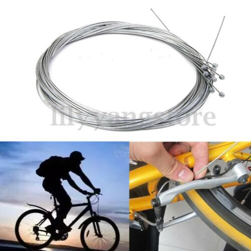 5//10Pcs Cycling Bike Bicycle Derailleur Shifter Shift Cable Inner Wire