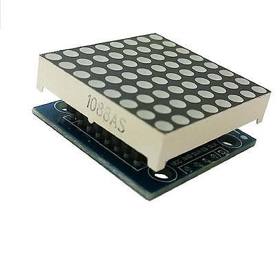 5pcs MAX7219 dot matrix module Arduino microcontroller module