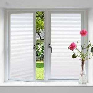 Image Is Loading Privacy Frosted Film Frost Glass Bathroom Window Striped