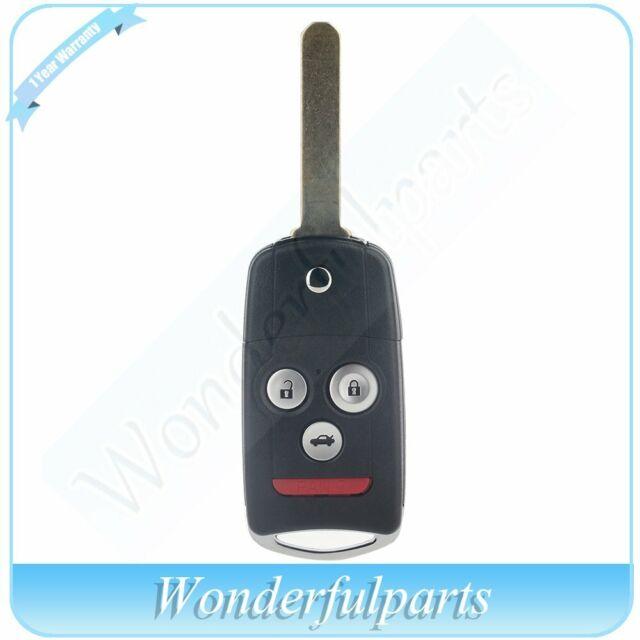 For Acura TL TSX ZDX 2009-2014 Keyless Entry Flip Remote