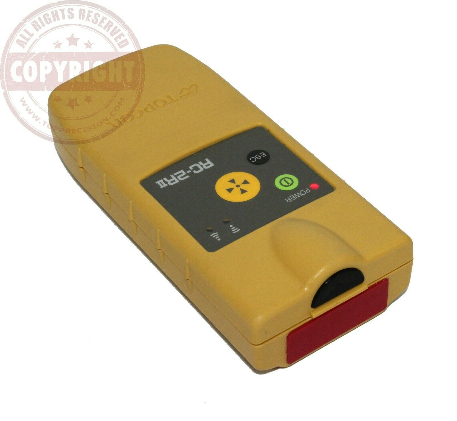 TOPCON RC-2RII REMOTE FOR ROBOTIC TOTAL STATION,GPT,GTS,QUICK LOCK,RC-2