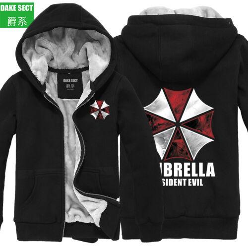 Resident Evil Cos vêtements Épaissir Veste Cosplay Pull à Capuche