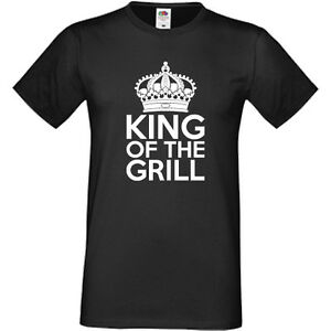 71100ca2 King Of The Grill T-Shirt Summer BBQ Barbecue Cooking Chef Funny | eBay