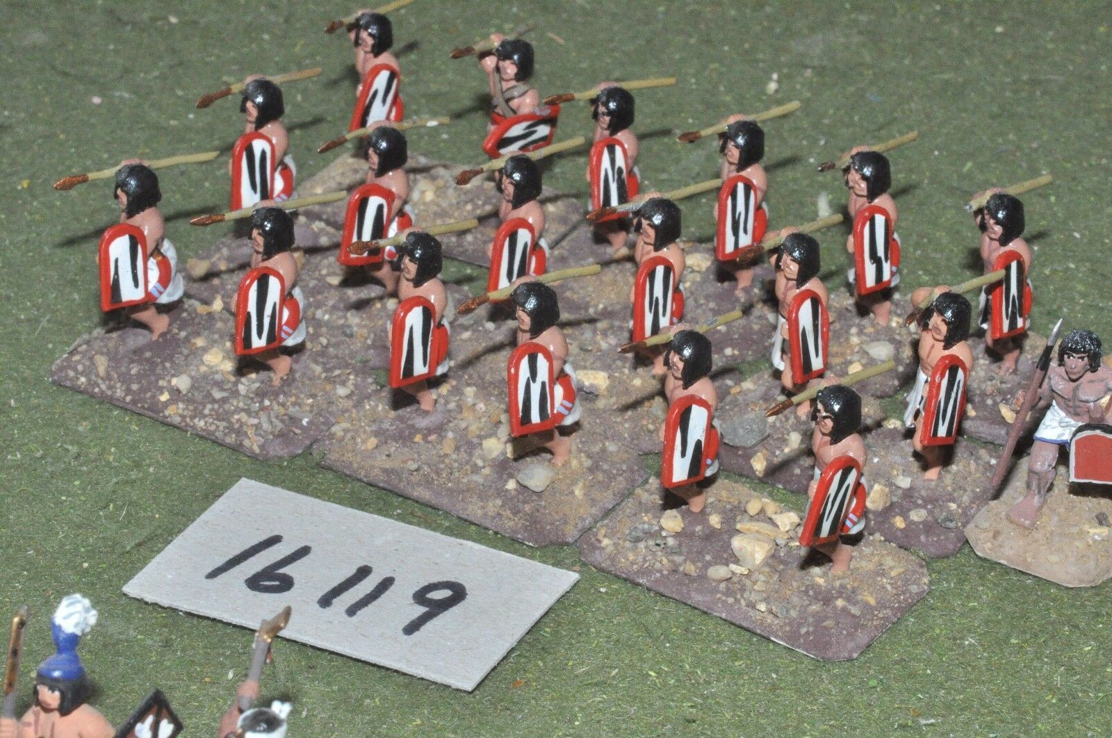 25mm biblical   egyptian - infantry 20 figures - inf (16119)