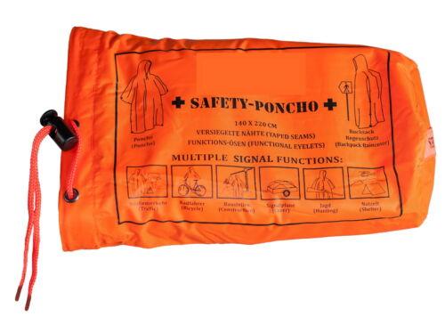 Army poncho us poncho Angler capa lluvia chaqueta Cape onesize naranja verde