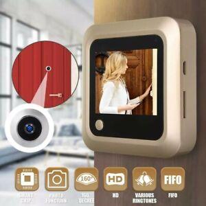 Peephole-Video-Doorbell