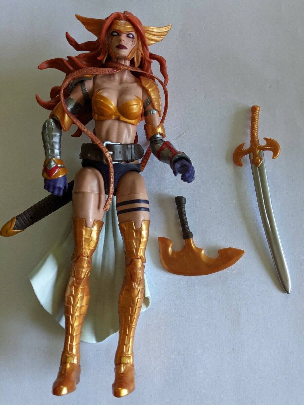 Marvel Legends ANGELA Guardians Of The Galaxy Hasbro Spawn 6in. Action Figure on eBay thumbnail