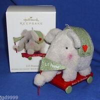 Hallmark Ornament Baby's First Christmas 2012 Li'l Peanut Plush Elephant
