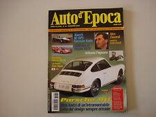 AUTO D'EPOCA 12/2003 PORSCHE 911/ABARTH SE 025/FAGNANO/1000 KM DI MONZA 1970
