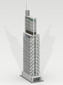 Details about CUSTOM LEGO BUILDING Comcast Technology Center  Philadelphia   USA  Big Size !!!