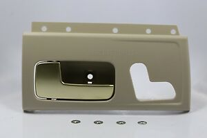 New tan gold inside door handle front lh w kit for 03 - 2004 lincoln town car interior door handle ...
