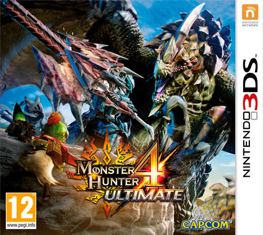3DS Monster Hunter 4 - Ultimate