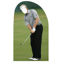 Golfer Stand-in Lifesize Cardboard Cutout Standin Standup Standee Golfing F/s
