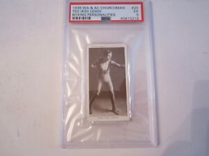 1938-TED-034-KID-034-LEWIS-25-WA-amp-AC-CHURCHMAN-BOXING-CARD-PSA-GRADED-PSA-5-BN-20