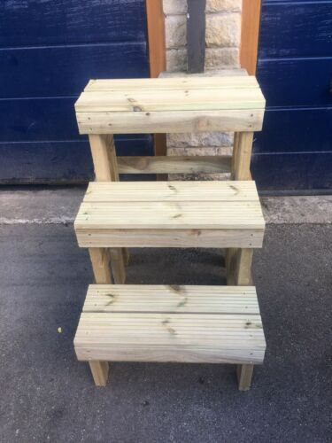 equestrian 3 Step mounting block 90cm 3ft High