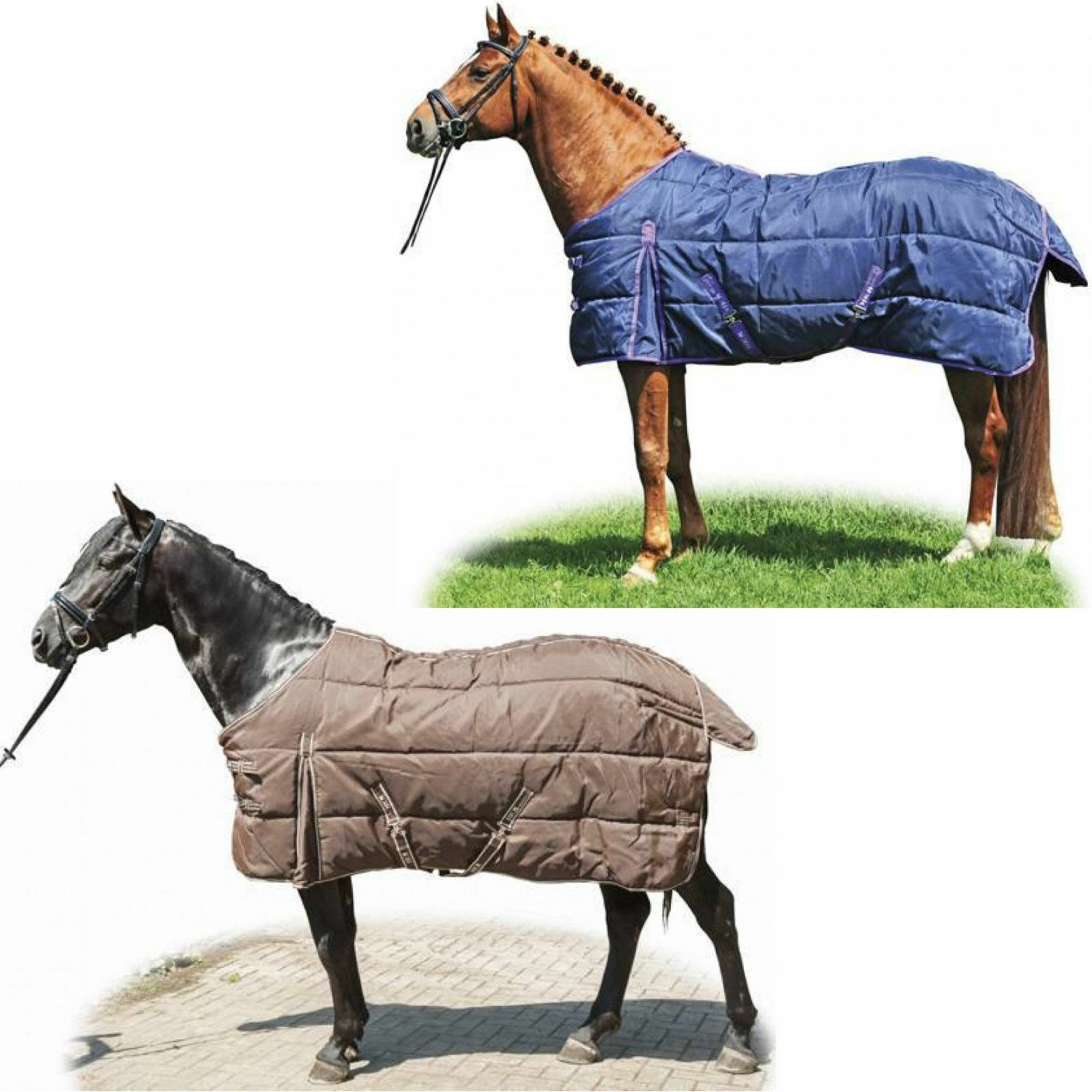 HKM Winter  Stable Blanket 1200D with gehfalte  considerate service