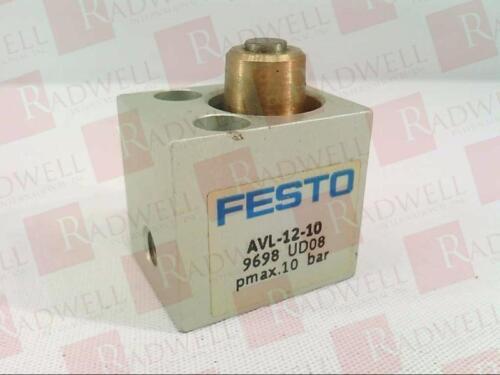 AVL1210 NEW IN BOX FESTO ELECTRIC AVL-12-10