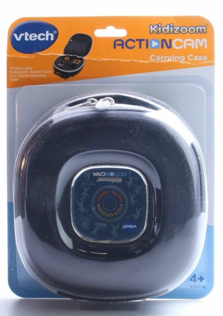 NEW (slightly damaged box) Tech Kidizoom ActionCam Carrying Case